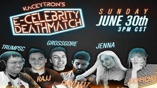E-Celebrity Deathmatch ft. Lilypichu, Rajj Patel, TrumpSC, GrossGore, Jenna & Clint1717