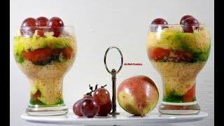 Faluda Recipe | কীভাবে ফালুদা তৈরি করতে হয়  | How To Make Fruit Mixed Faluda