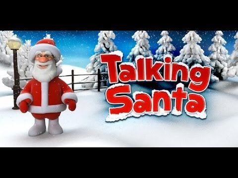 Talking Santa App For Iphone Review Demo Funny Video