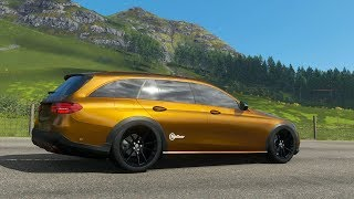 FH4 Mercedes E350D 4matic All-Terrain Project E-AT TopGear Full Upgrade