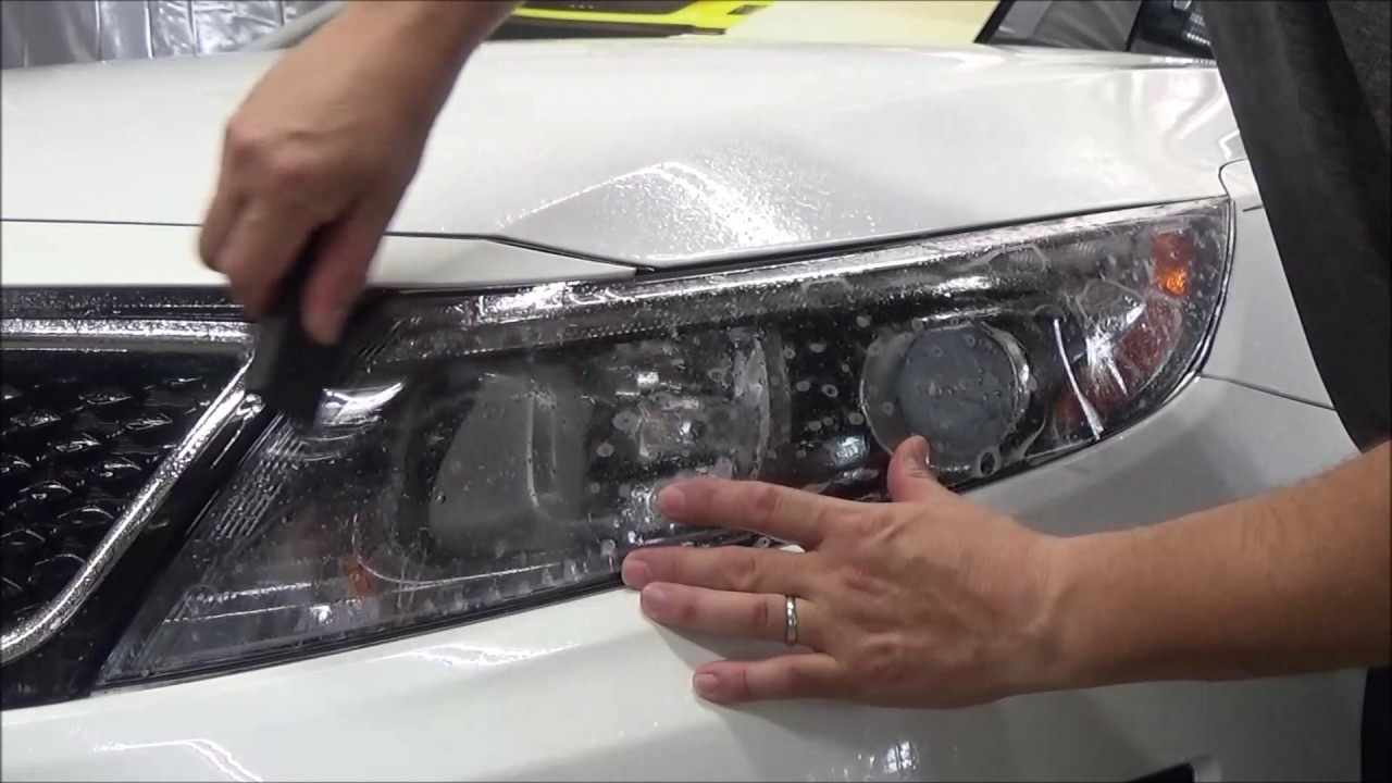 2015 Kia Optima Turbo Headlamp Protection Film Install