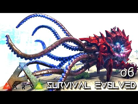 ARK: SURVIVAL EVOLVED - THE KRAKEN NEW TAMEABLE DINO !!! E06 (MODDED ARK PUGNACIA DINOS)