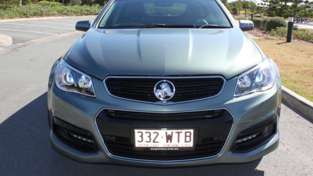 2014 Holden Commodore VF MY14 SV6 Sportwagon Grey 6 Speed Sports