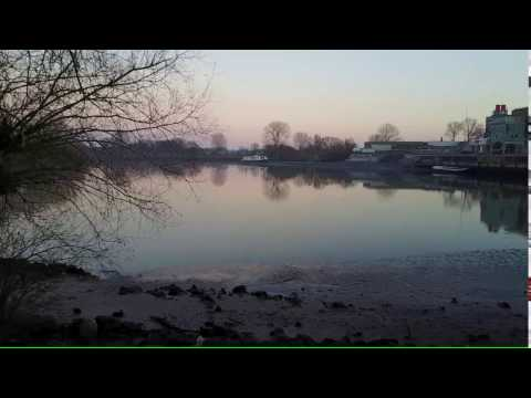 Maas gezakt Beugen/Boxmeer 30-12-2016