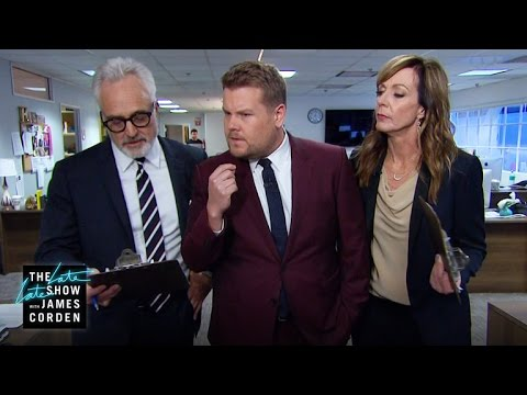Walk-and-Talk Monologue (w/ Allison Janney & Bradley Whitford)