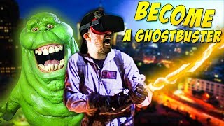 BECOME A GHOSTBUSTER IN VR | Ghostbusters is Hiring: Firehouse - Oculus Rift