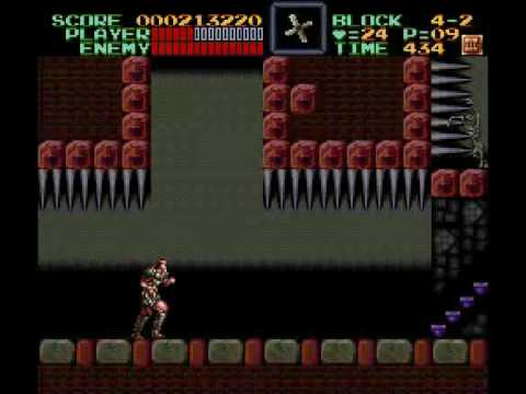 Misc Computer Games - Super Castlevania 4 - The Forest Of Monsters Stage 2