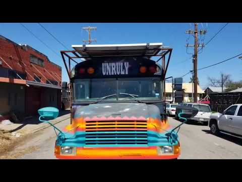 SCHOOL BUS CONVERSION - CONVERTED TO SOLAR OFF-GRID TINY HOME - SKOOLIE RV MOTORHOME TINY HOUSE