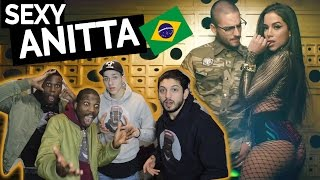Anitta Feat Maluma -  Sim Ou Não  pedido REACTION! (Anitta Reaction)