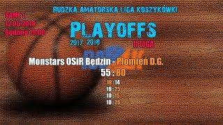 Baixar Monstars OSiR Będzin - Płomień D.G. 55:80 (RALK Playoffs 2018)