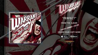"""Warrant – """"Perfect"""" (Official Audio)"""