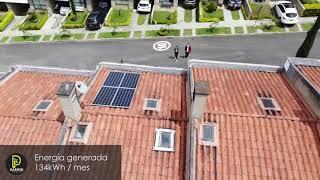 Proyecto Energía Solar Residencial en Antioquia