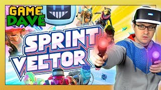 The ULTIMATE VR Workout! - SPRINT VECTOR | Game Dave