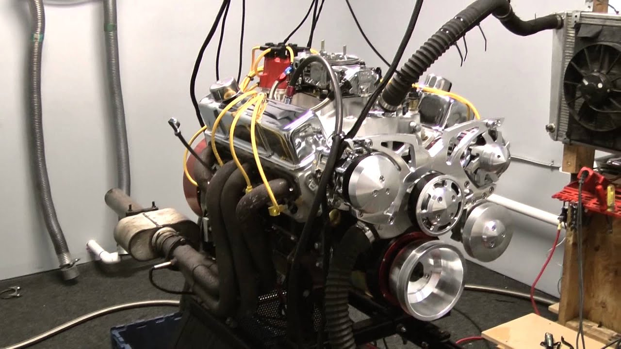 427 SBC Stroker Crate Engine