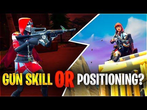 GUN SKILL OR POSITIONING
