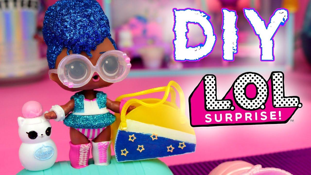 DIY LOL Surprise 👛 Akcesoria dla laleczek 👒 Toys Land