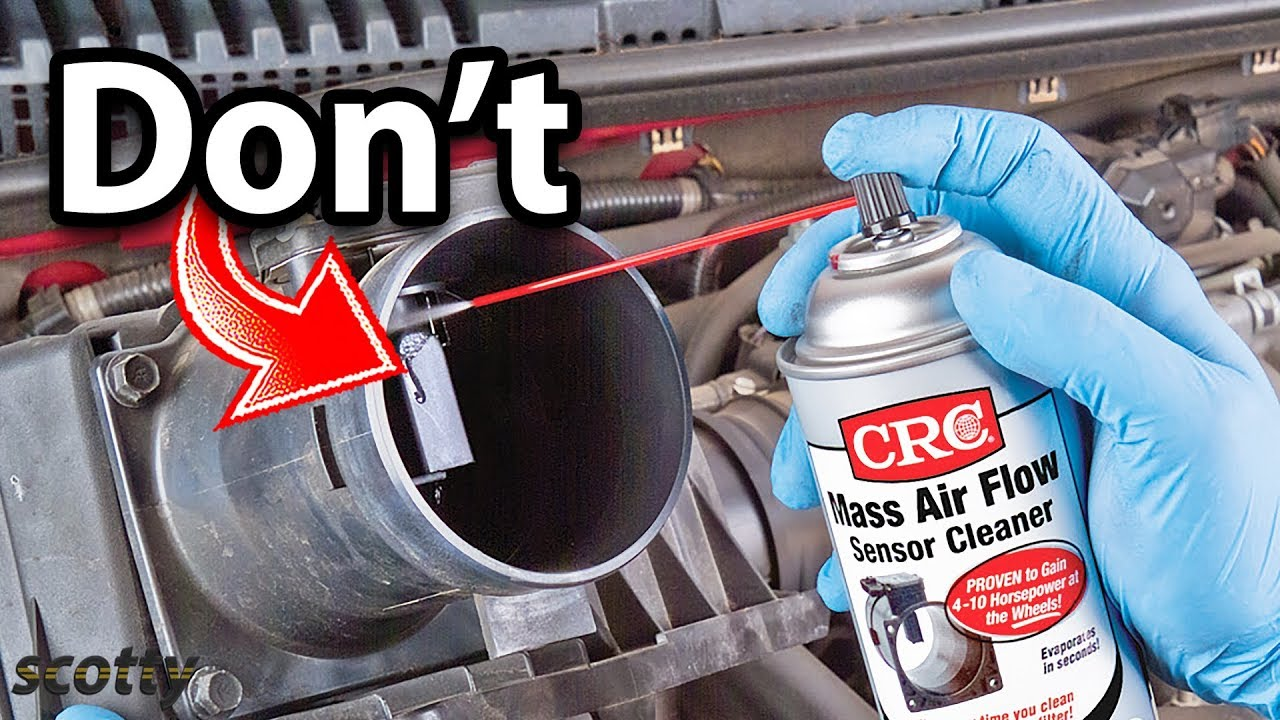 Nya Never Do This When Cleaning Your Mass Air Flow Sensor - YouTube ZR-81