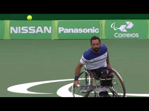 Day 2 evening | Wheelchair tennis highlights | Rio 2016 Paralympic Games
