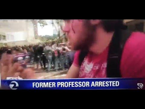 Arrest of U-Lock attacker Eric Clanton on KTVU in Oakland (livestream)