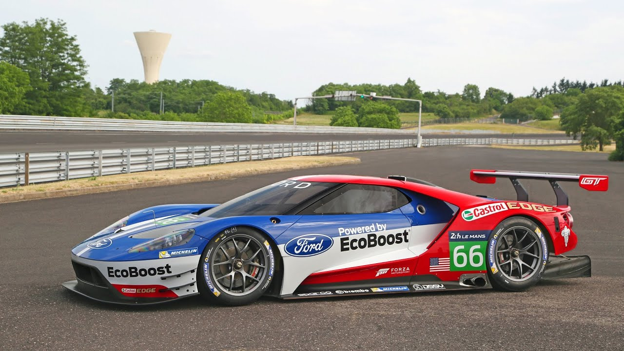Ford Gt Le Mans Race Car Youtube