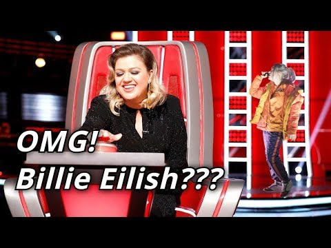 BILLIE EILISH In The Voice | Blind Auditions | BEST Billie Eilish Covers