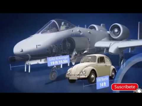 El A 10 Thunderbolt II  El Poderoso caza tanques EEUU