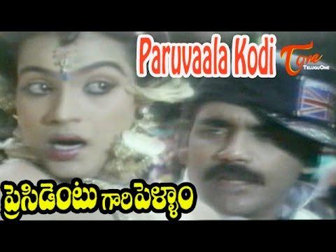 Download President Gari Pellam Songs | Paruvala Kodi Song | Nagarjuna, Meena