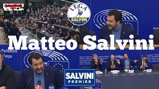 🔴 Intero intervento di Matteo Salvini a Strasburgo del 13/03/2018.