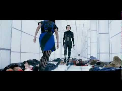 Resident Evil 5: Retribution. White Corridor Fight Scene. HD 1080p.