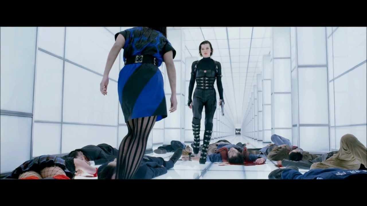 Attractive Resident Evil Extinction Nude Scene Jpg