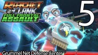 Ratchet & Clank: Full Frontal Assault Part 5 - Grummel Net Defense Center