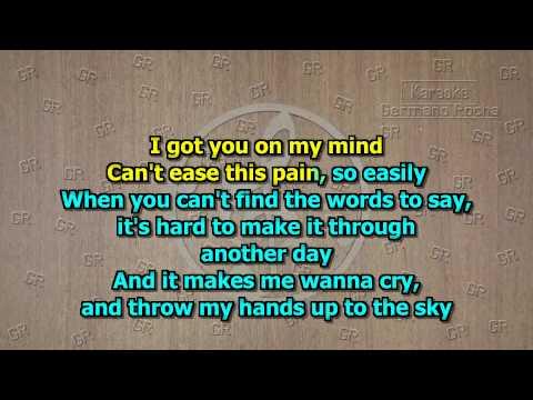 Iron Maiden - Wasted Years (Karaoke)