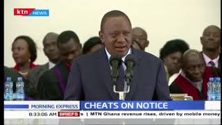 Uhuru's military approach to curb cheating