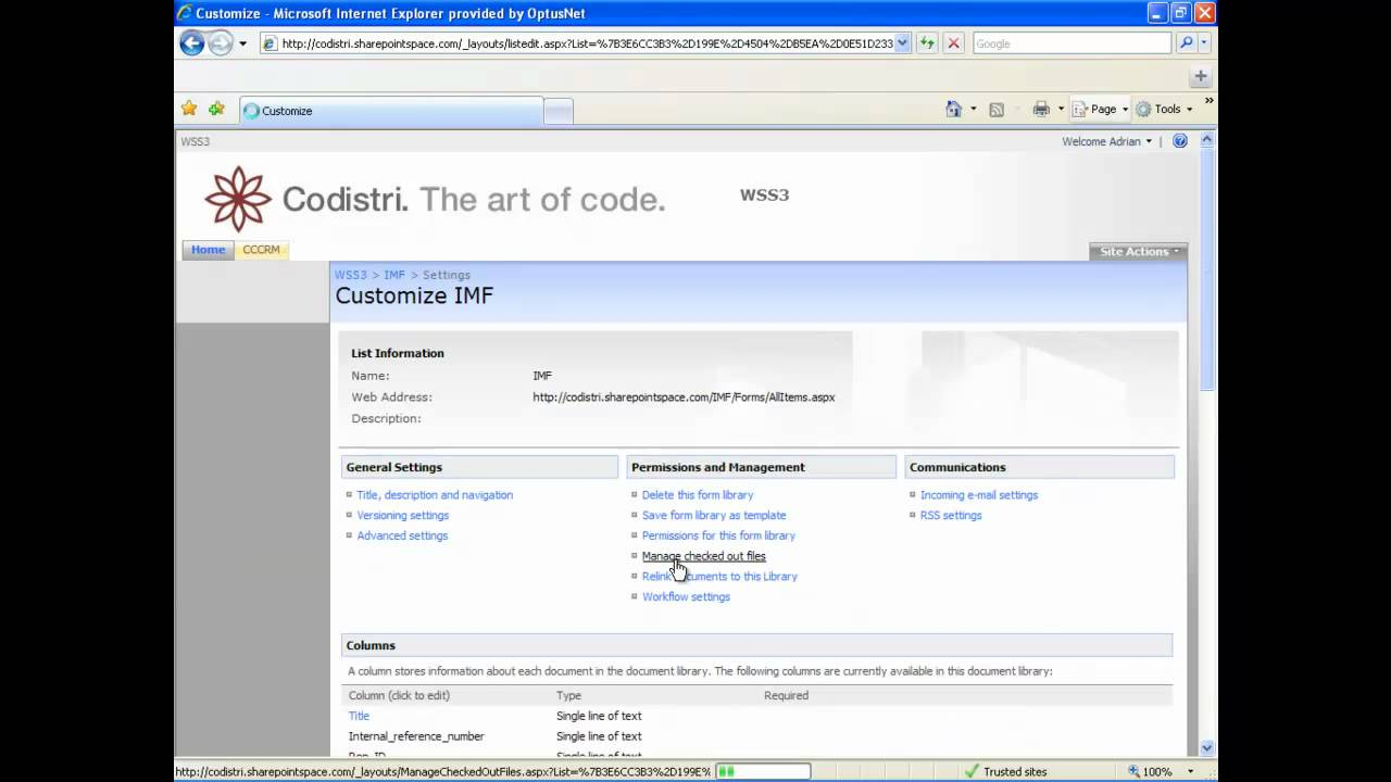 Relink Infopath forms in Windows Sharepoint Services 3