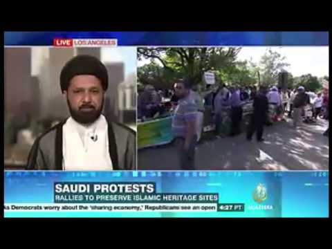 Baqee Washington Protest covered by Al-Jazeera America