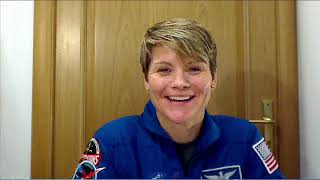Expedition 58 Anne McClain Live Shots November 9, 2018