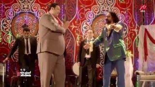مقطع أبو حفيظة نقيب الموسيقيين والقبض على مغني شعبي HD