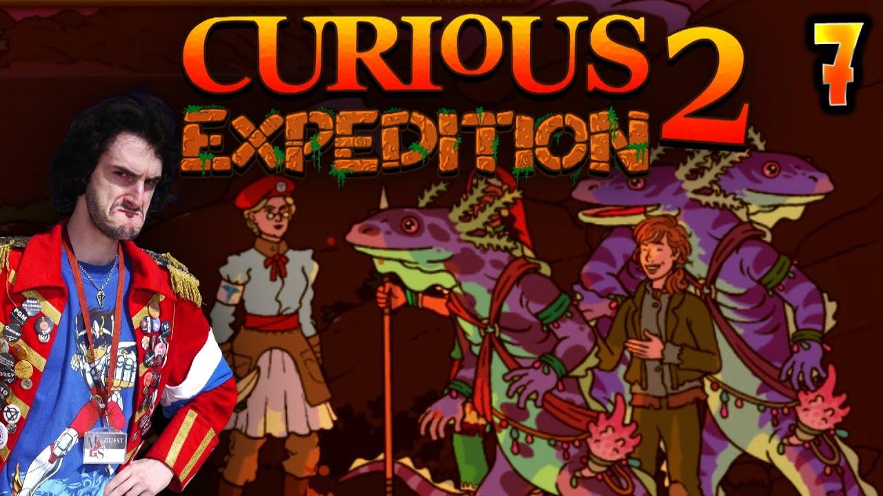 LE PLAN Q DE CLAUDETTE !!! -Curious Expedition 2- Ep.7