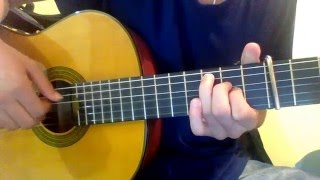 Fairy Tail ED 6 - Be as one on acoustic guitar ( fingerstyle )
