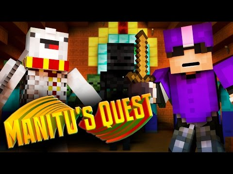 Minecraft Custom Adventure Map : MANITU'S QUEST! /w Facecam!