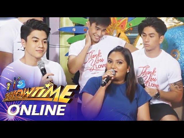 It's Showtime Online: TNT defending winner Nabela Gudito's preparations
