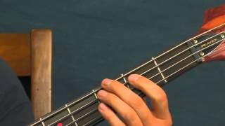 Beginner Bass guitar lesson kryptonite 3 doors down