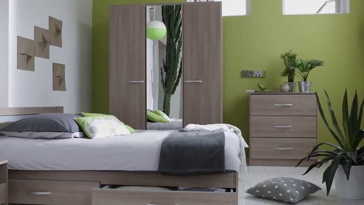 d couvrez notre chambre style nature premier prix catalogue but 2013 2014 page 202 youtube. Black Bedroom Furniture Sets. Home Design Ideas