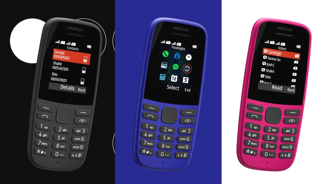 Introducing The New Nokia 105 Youtube