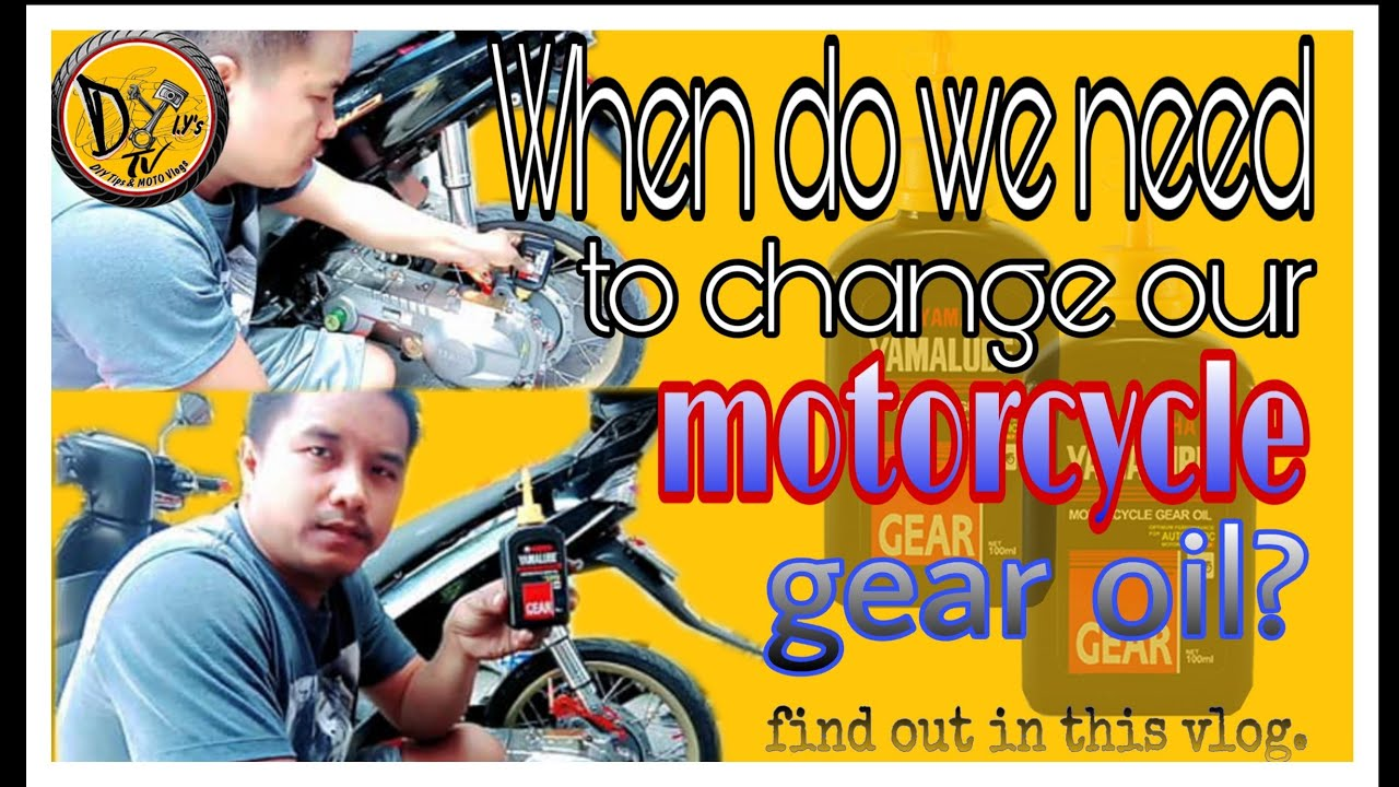 How to change motorcycle gear oil and when to change ...
