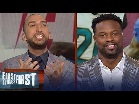 Bart Scott On Who Wins The OBJ- Jalen Ramsey Matchup, Saquon's NFL Debut | NFL | FIRST THINGS FIRST