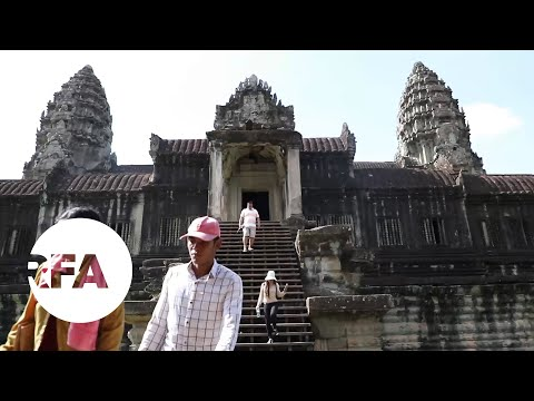 Fewer Tourists At Cambodia's Historic Angkor Wat | Radio Free Asia (RFA)