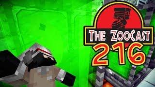 Minecraft Jurassic World (Jurassic Park) ZooCast - #216 Dinosaur Embreyo!