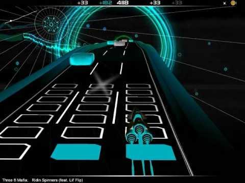 Audiosurf - Ironmode Mono - Three 6 Mafia - Ridin Spinners