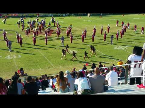 Virginia Union University Marching Band 2017